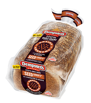 Dempster's® Seed Lovers Bread (with Sesame & Cracked Red Fife)
