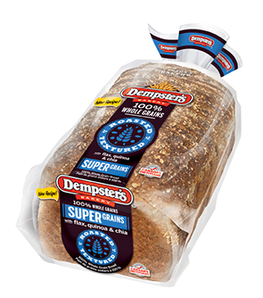 Dempster's® Supergrains Bread (with flax, quinoa and chia)