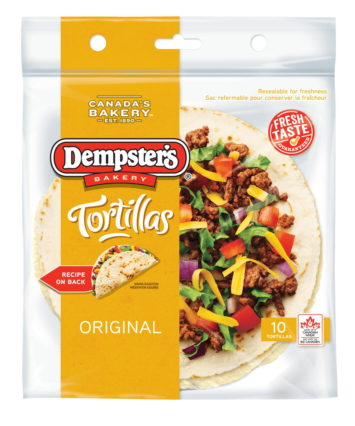 """Dempster's® 7"""" Plain Tortilla"""