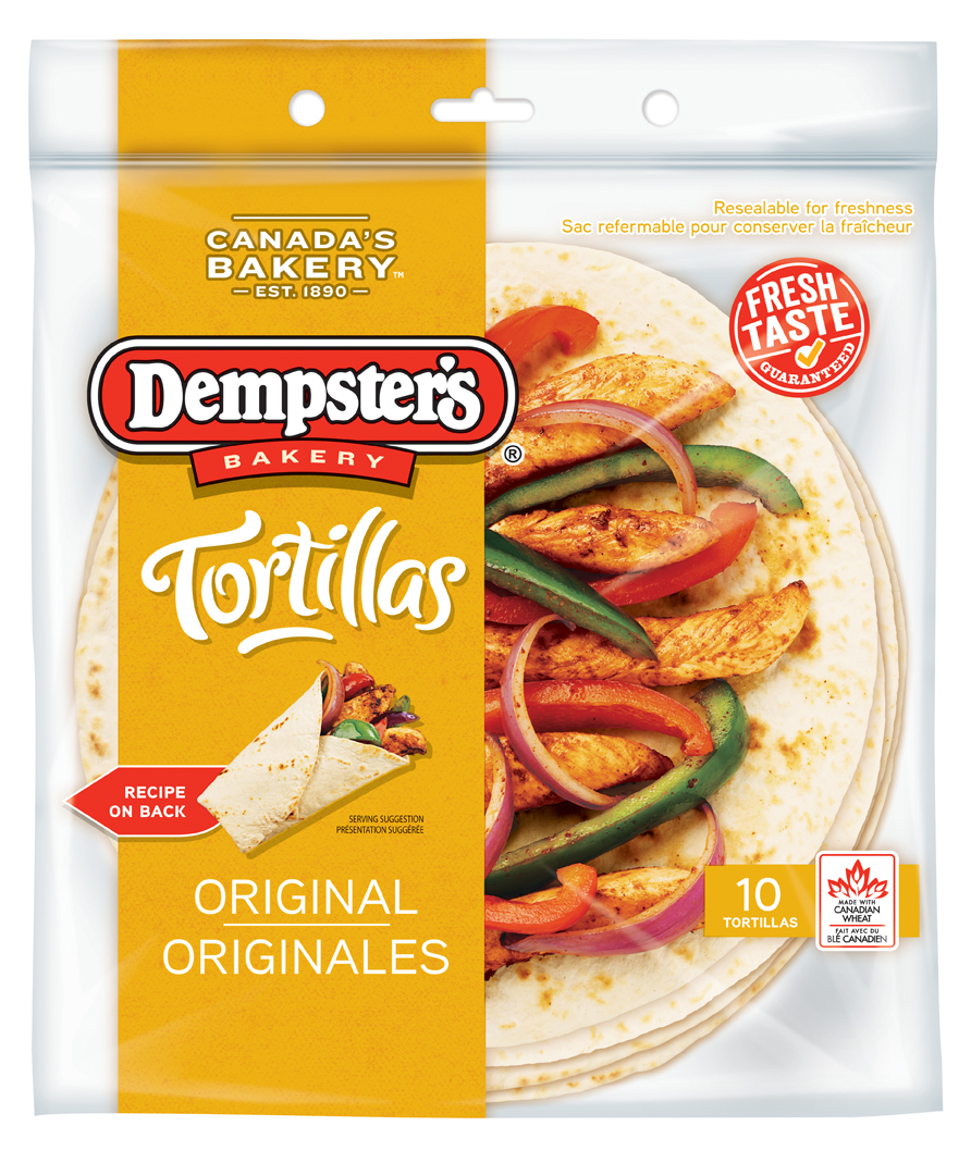 Dempster's® Tortillas Original 10 in.