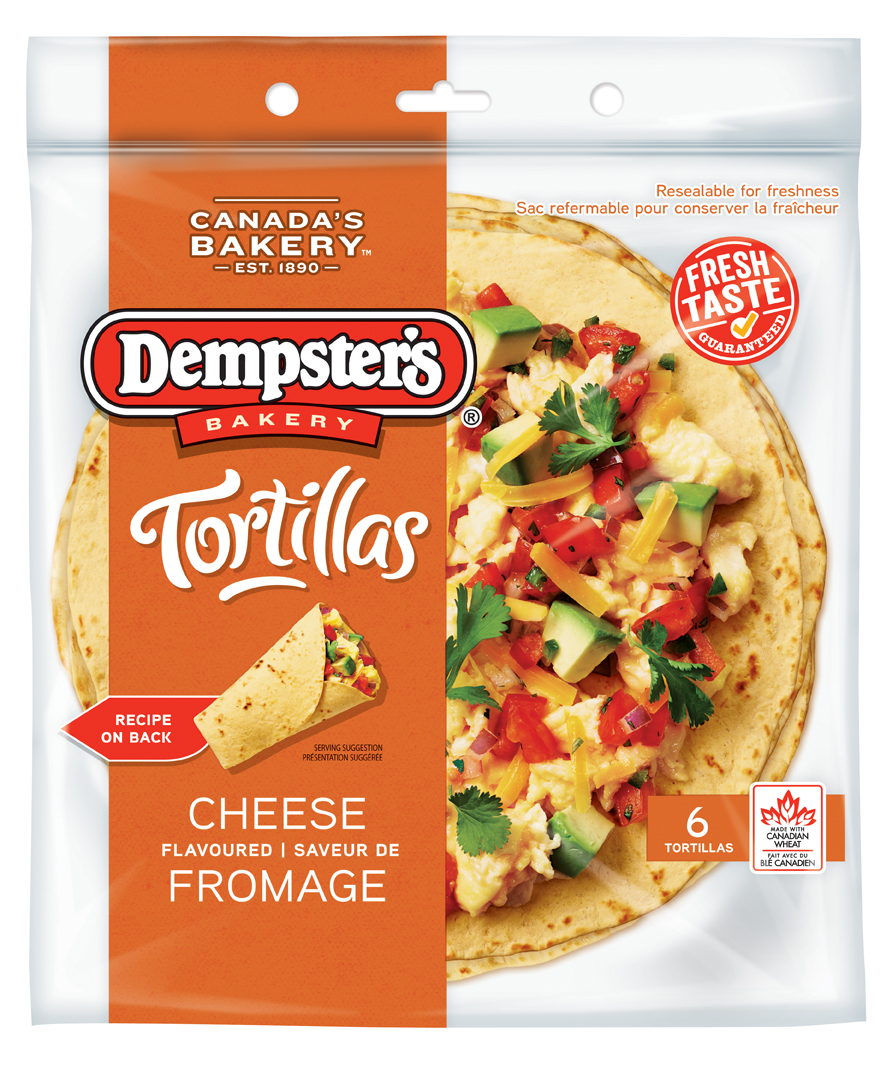 Dempster's® Tortillas Cheese 10 in.