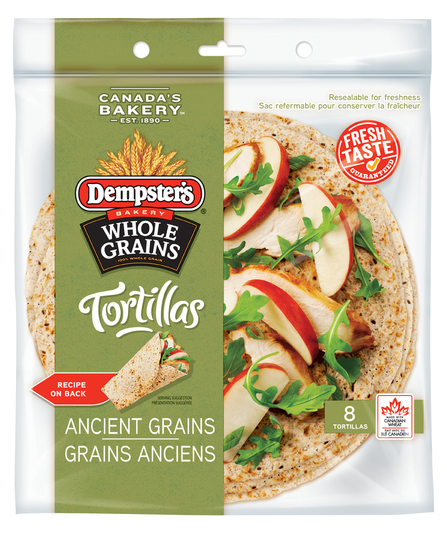 Dempster's® WholeGrains™Ancient Grains Tortillas 7 in.
