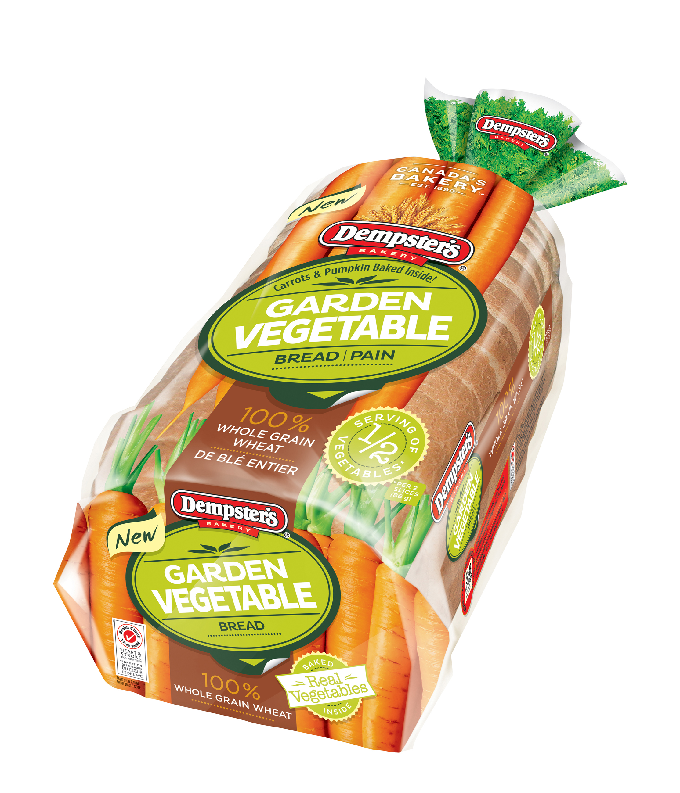Dempster's® Garden Vegetable Bread