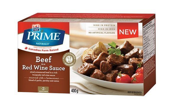 Prime Naturally Beef in a Red Wine Sauce