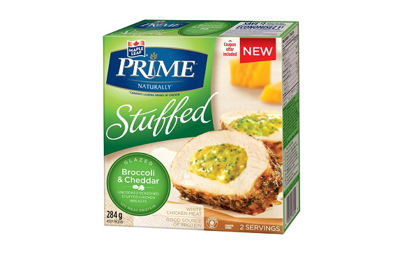 Maple Leaf Prime® Stuffed Chicken Breasts - Broccoli and Cheddar