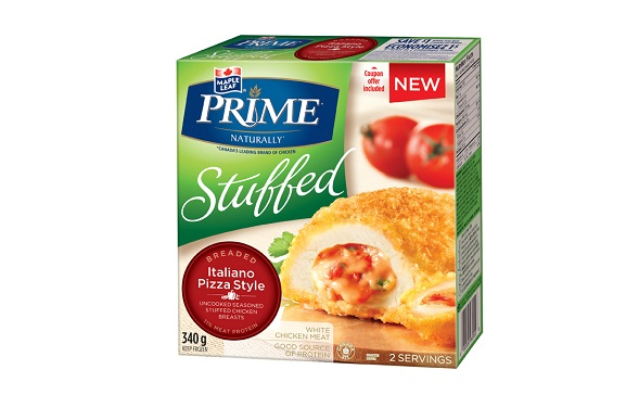 MAPLE LEAF PRIME® STUFFED BREADED – ITALIANO PIZZA STYLE