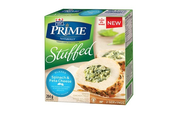 MAPLE LEAF PRIME® STUFFED GLAZED – SPINACH & FETA CHEESE