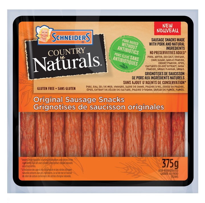 Schneiders Country Naturals Sausage Snacks