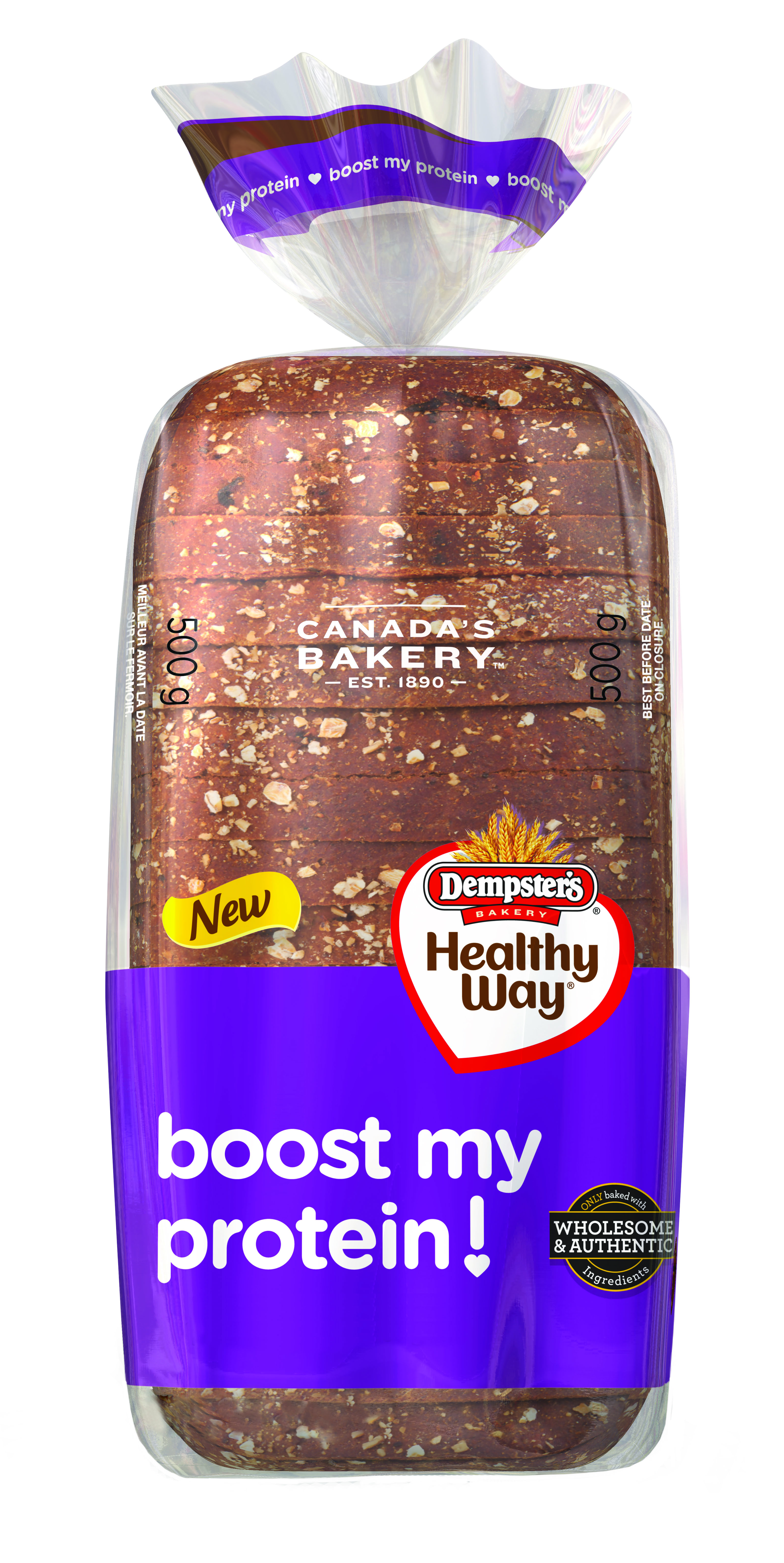 Dempster's® Healthy Way® Boost My Protein! 100% Whole Grain Loaf