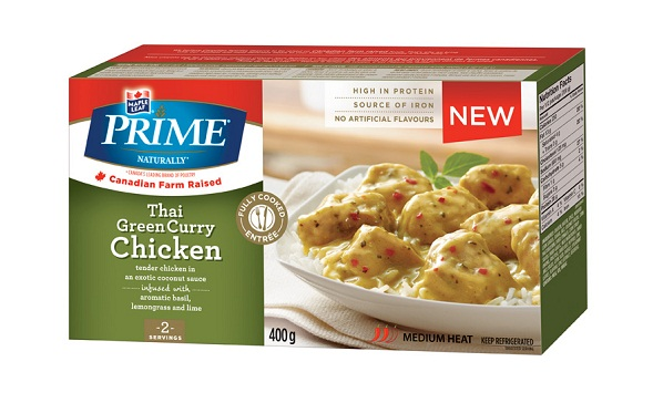 Prime Naturally Thai Green Curry Chicken