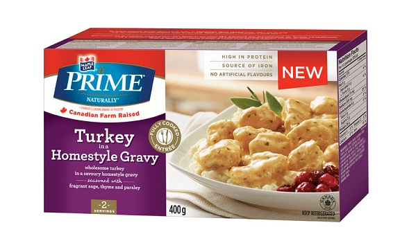 Prime Naturally Turkey in a Homestyle Gravy