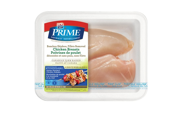 Maple Leaf Prime® Naturally®* Boneless Skinless Chicken Breasts