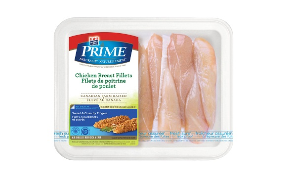 Maple Leaf Prime® Naturally®* Chicken Breast Fillets