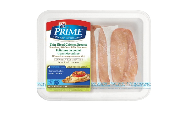 Maple Leaf Prime® Naturally®* Thin Sliced Chicken Breasts