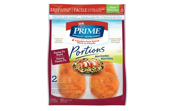 Maple Leaf Prime® Naturally Portions Santa Fe Style