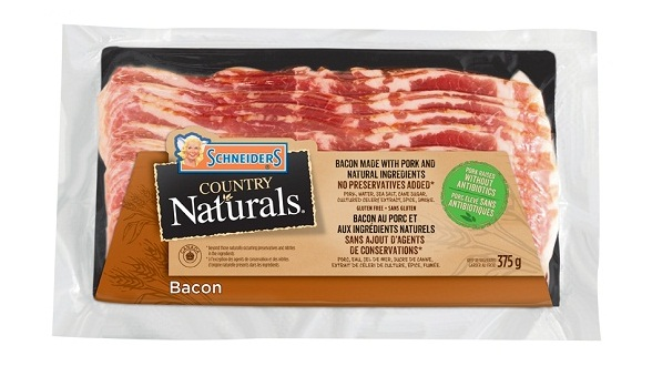 Schneiders Country Naturals Bacon