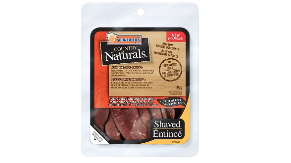 Schneiders Country Naturals Shaved Roast Beef