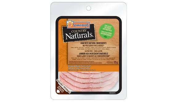 Schneiders Country Naturals Smoked Black Forest Ham