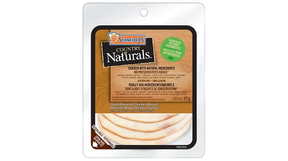 Schneiders Country Naturals Oven Roasted Chicken Breast
