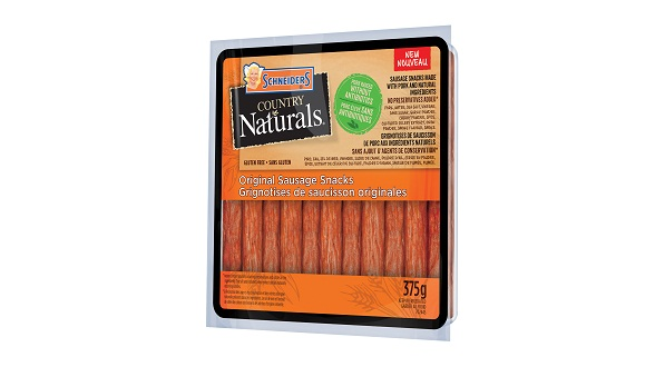 Schneiders Country Naturals Original Sausage Snacks