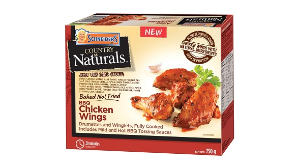 Schneiders Country Naturals BBQ Chicken Wings