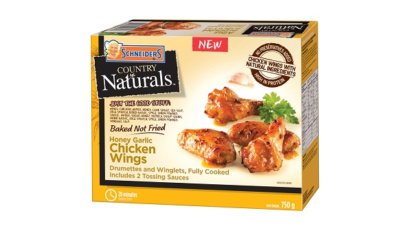 Schneiders Country Naturals Honey Garlic Chicken Wings