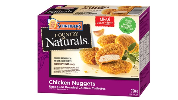 Schneiders Country Naturals Chicken Nuggets