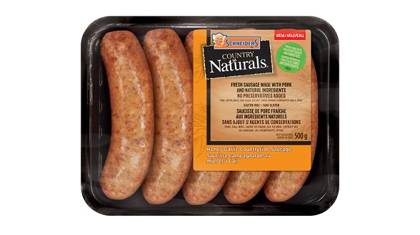 Schneiders Country Naturals Honey Garlic Countryside Sausage