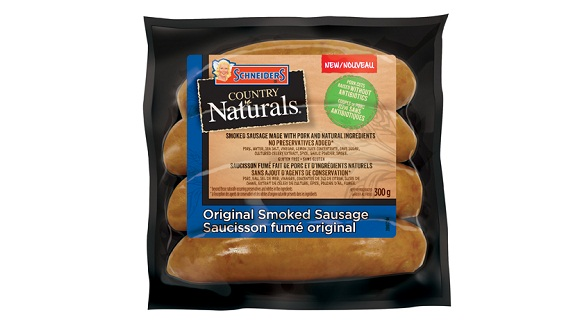 Schneiders Country Naturals Original Smoked Sausage
