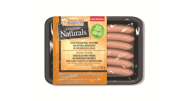 Schneiders Country Naturals Maple Syrup Countryside Sausage in Natural Lamb Casing